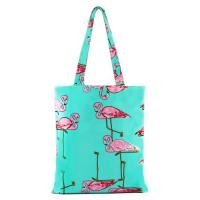 Buy cheap Flower Pattern Zipper Printed Shopping Bags For Grocery Stores product