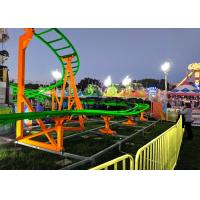 Buy cheap 12 Seats 380V Kiddie Roller Coaster With Ethnic Characteristics Decoration product