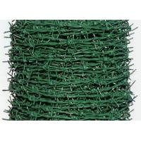 Buy cheap PVC Coated Security Barbed Wire Fencing With Low Carbon Steel Materials product