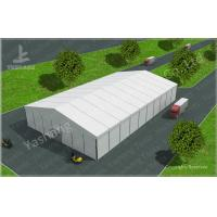 8M Height PVC Warehouse Storage Tent UV Resistant A-Shaped Roof Top Style