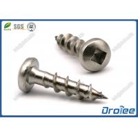 China SS 304/316/410 Square Drive Pan Head Stainless Steel Wood Decking Screw on sale