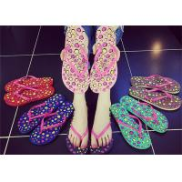 Buy cheap Sweet Smell Womens Thong Flip Flops , Ladies Beach Flip Flops Slippers Open Toe product