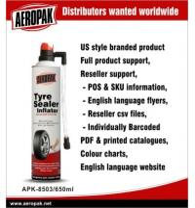 Quality Aerosol Emergency Tyre Repair LPG Gas Liquid State Puncture Sealing SO9001 for sale