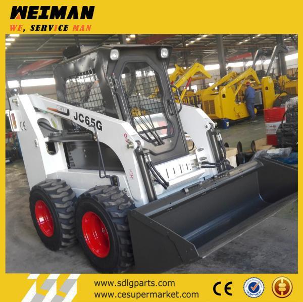 Quality China wheel skid steer loader, skid steer loader with Japan engine, JC65G skid loader for sale
