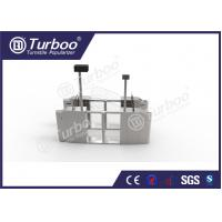Buy cheap Pedestrian Optical Barrier Turnstiles / Swing Gate Turnstile For Access Control product