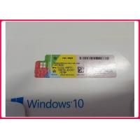 Buy cheap Multi Language Microsoft Win 10 Pro Product Key 64bit Online Activate Various from wholesalers