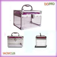 Small Plastic Cosmetic Cases Clear Jewellery Plastic Boxes (SACMC128)