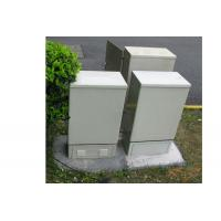Buy cheap Fiber Optic telecom rectifier outdoor cabinet ftth product