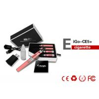 China Green 900mAh Ego Electronic Cigarette CE5 Clearomizer RoHS , No Leaking wholesale