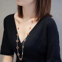 Buy cheap 18K Yellow Gold Van Cleef Alhambra Long Necklace product