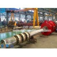 Buy cheap 1000 Usgpm Nfpa Standard Vertical Turbine Fire Pump Sets Cast Iron Bearing Housing product