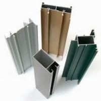 Buy cheap 6063 / 6006 Aluminum Curtain Wall Profile Bending With T66 T5 product