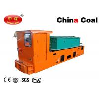 Buy cheap 8T Underground Mining Equipment Mine Battery Powered Electric Locomotives product