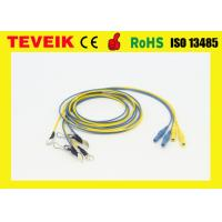 Buy cheap Waterproof EEG cable,DIN1.5 socket,Ear-clip electrode,silver plated copper product
