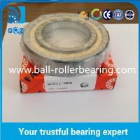 Buy cheap Chrome Steel Angular Contact Ball Bearing , Four Point Ball Bearing QJ211 MPA product