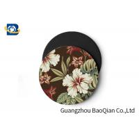 Buy cheap Vivid Depth Effect 3D Floral Lenticular Coasters PET/ EVA Material Customized Size product