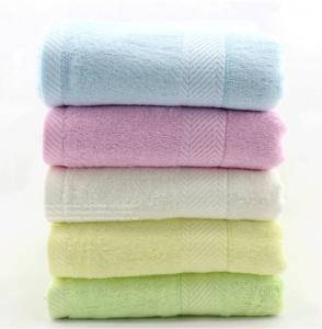 Buy cheap 14*30'' Natural Organic Bamboo Fiber Towel Face Towel Hand Towel Hair Towel  100% Pure product