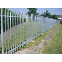 Buy cheap Galvanized Palisade Fence product
