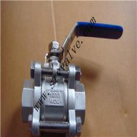 Buy cheap 316L 3pc Threaded End Ball Valve product