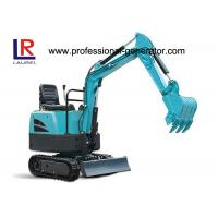 Buy cheap Flexible Movement Heavy Construction Machinery , 16MPa 7.4kw Rubber Crawler Excavator product