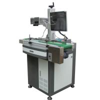 Buy cheap Laser Engraving Machine For Aluminum Tags , Fiber Laser Marker 0.15mm Minimum Character product