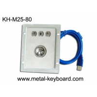 IP65 Rate Stainless steel Optical Trackball Industrial Pointing Device