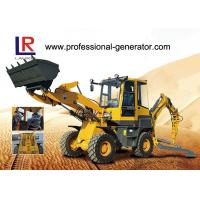 Buy cheap YUCHAI Engine Heavy Construction Machinery , 2000kg load Medium Backhoe Loader with 1m³ bucket product