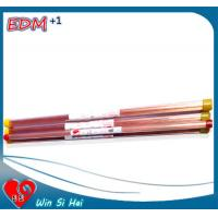 China 0.3mm x 400mm EDM Electrode Tube , Brass / Copper Tube for Drill Machine on sale
