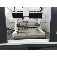 movable tale of CNC metal mould marking machine