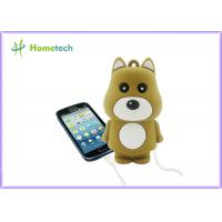 Buy cheap Mini Cute Rechargeable Powerbank Stylish Bear Shape For Mobile Phone product