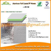 Buy cheap Aluminum Foil Coated PP Woven as roof reflective insulation product