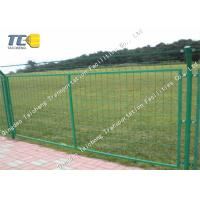 Buy cheap Recyclable Welded Wire Mesh Fence Hot Dipped Galvanized Salt Spray Resistance product