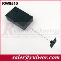 Buy cheap Adhesive Quadrate ABS Plate Retractable Security Tether For Retail Displays product
