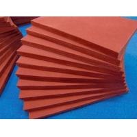 Buy cheap Silicone rubber foam sheet  Silicone foam sponge sheet in rolls  High temperature heat resistant  soft product