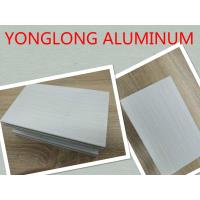 Buy cheap Grey Decorative Wood Finish Aluminium Profiles with Marble Pattern product