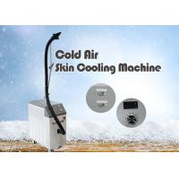 China Professional Anti Aging Machine Reduce Pain Cold , Air Skin Cooling Machine on sale