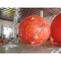 Quality 0.18mm helium PVC Giant Neptune Inflatable Helium Balloons ,Round shaped For for sale
