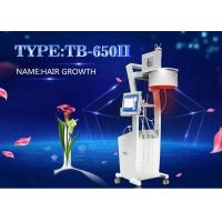 China Three Wavelength LED Light Color Touch Sreen Diode Laser Hair Loss Treatment Machine wholesale