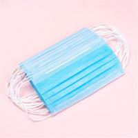 Buy cheap Healthy Breathing Blue Disposable Mask , Eco Friendly Custom Hospital Masks product