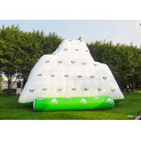 China Water Iceberg Inflatable Water Games Rock Climbing Mountains For Pool on sale