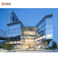 Buy cheap heatproof Extrusion Aluminum Curtainwall Systems exterior Office Building Wall product