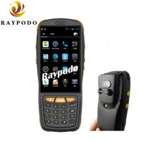 Buy cheap NFC Reading RFID Barcode Scanner , QR Code Pda Portable Device HD Camera GPS Navigation product