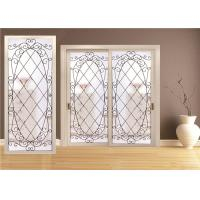 Buy cheap Double Pane Sliding Glass DoorHollow Stained Glass Panels Air / Argon Insulating product