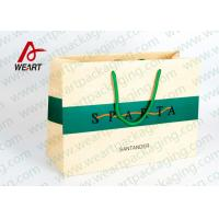 Modern Monogrammed Gift Bags Paper Material , Colored Printed Retail Bags
