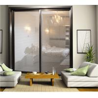 Buy cheap CY818E-809 Partition Sliding Doors With Aluminum Frame, Durable Glass Sliding Closet Door Factory For Bedroom product