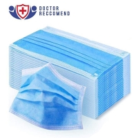 Buy cheap Protective Non Sterile Breathable 3 Layer Face Mask product