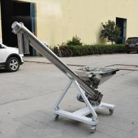 Quality 304  Stainless steel Small grain augers Screw conveyer for powder sand cereal for sale