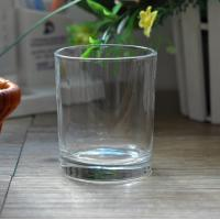 Buy cheap 7oz Transparent replacement votive glass candle holders Machine Press product