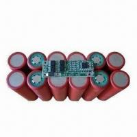 Buy cheap High-quality 11.1V/6,600mAh Battery Pack LED Power Supply, Built-in PCM and Connector product