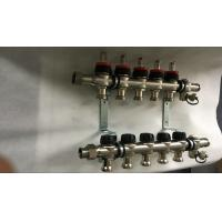 Buy cheap House  Stainless Steel Water Manifold Sliver Color 5 Loop Radiant product